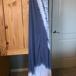 Elan Dresses - Tie dye bead strap maxi dress